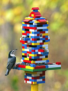 Gary Mueller of Missouri submitted this photo of a Lego feeder that was the Judge's Choice during the first week of the contest.